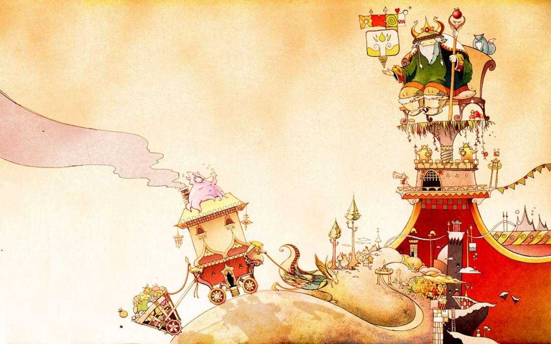 king fantasy art wallpaper