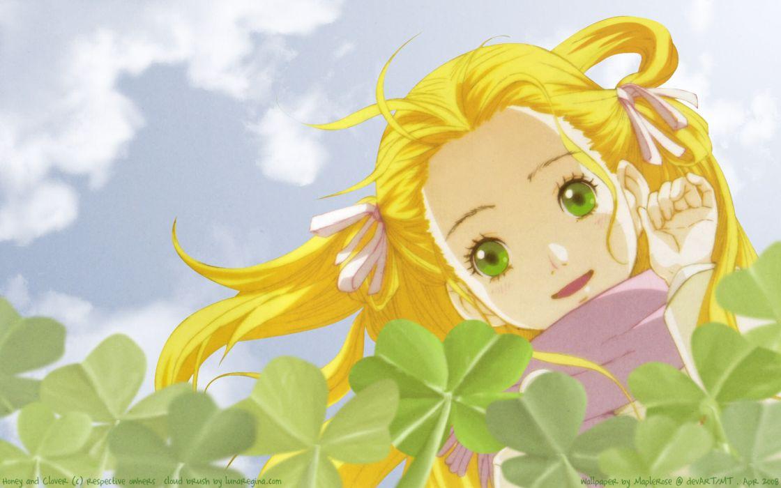 anime Hachimitsu to Clover Honey and Clover wallpaper