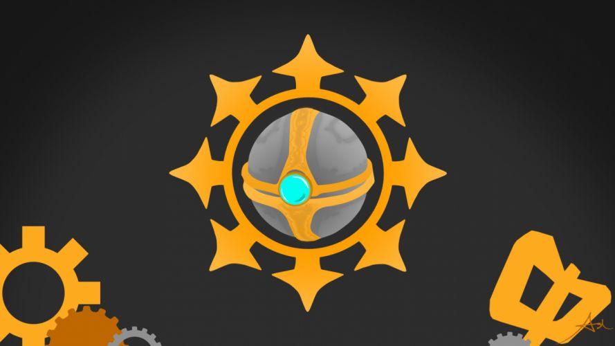 video games League of Legends weapons Orianna wallpaper