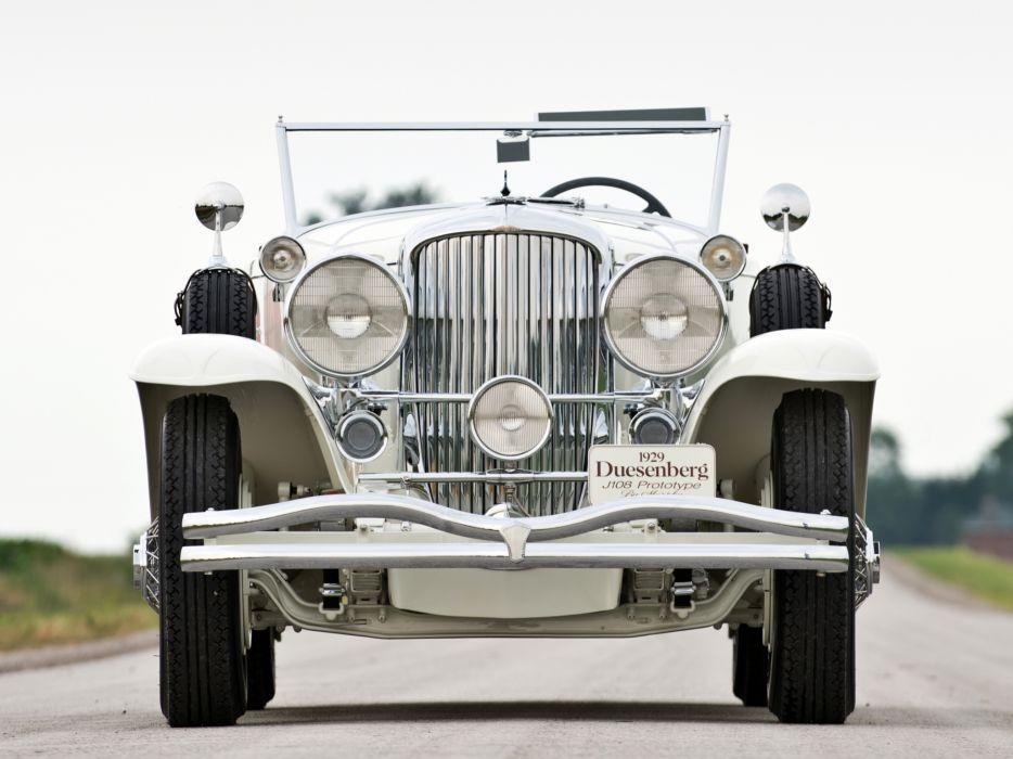 1929 Duesenberg Model-J 108-2134 Convertible Coupe Murphy luxury retro      g wallpaper
