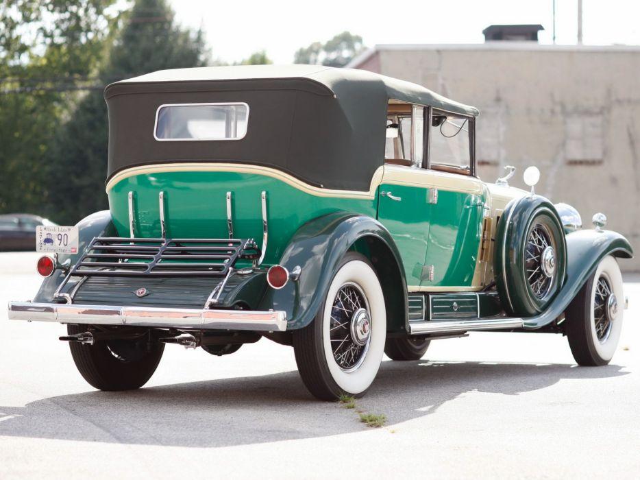 1930 Cadillac V16 All-Weather Phaeton Fleetwood luxury retro  t wallpaper