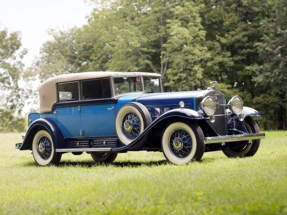 1930 Cadillac V16 All-Weather Phaeton Fleetwood luxury retro       g wallpaper