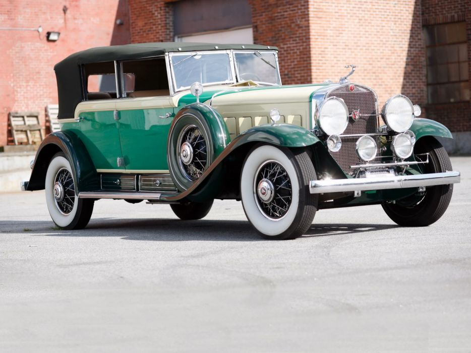 1930 Cadillac V16 All-Weather Phaeton Fleetwood luxury retro   r wallpaper