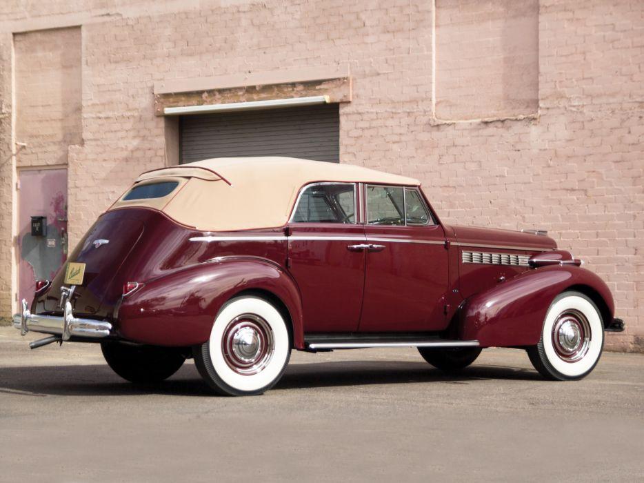 1938 Buick Special Convertible Phaeton (38-40DA) luxury retro  j wallpaper