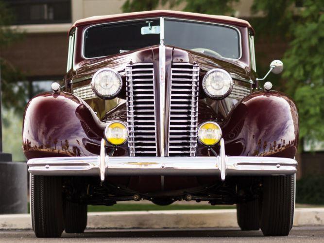 1938 Buick Special Convertible Phaeton (38-40DA) luxury retro g wallpaper