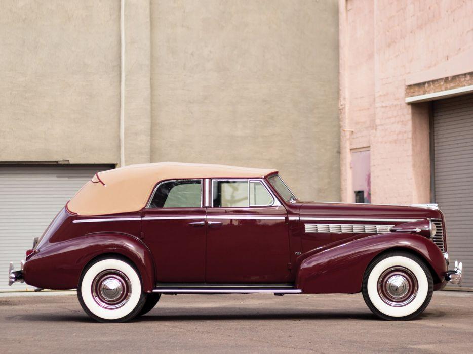 1938 Buick Special Convertible Phaeton (38-40DA) luxury retro  fs wallpaper
