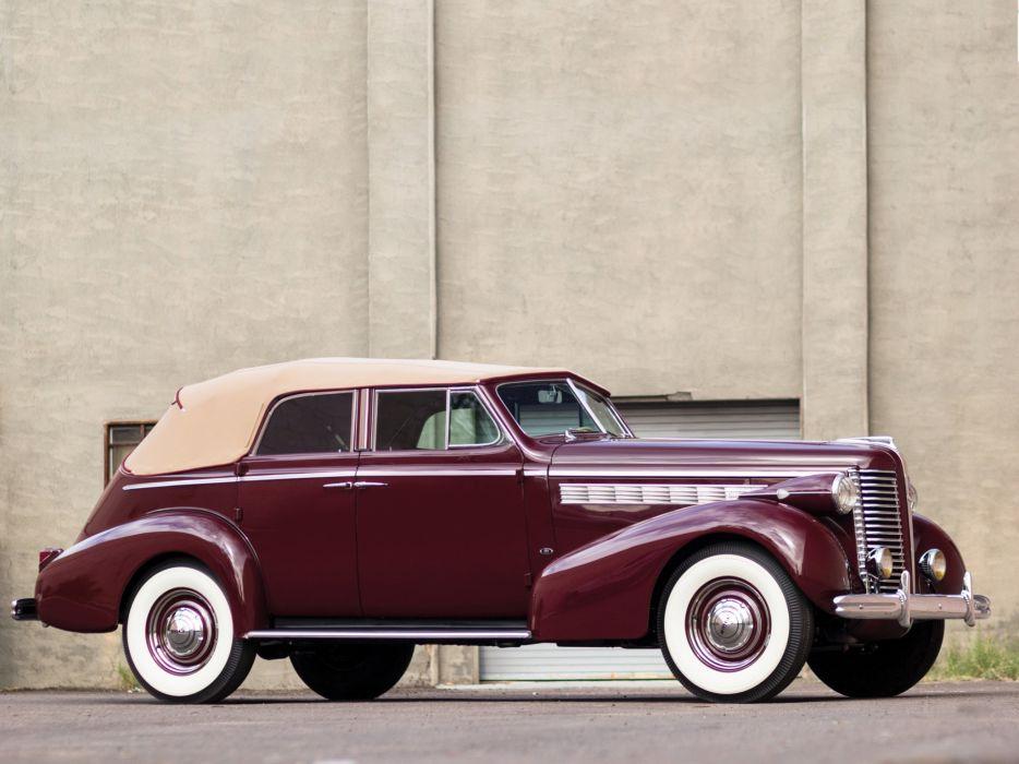 1938 Buick Special Convertible Phaeton (38-40DA) luxury retro  f wallpaper