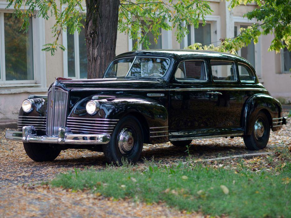 1945-48 ZIS 110 limosuine luxury retro   g wallpaper