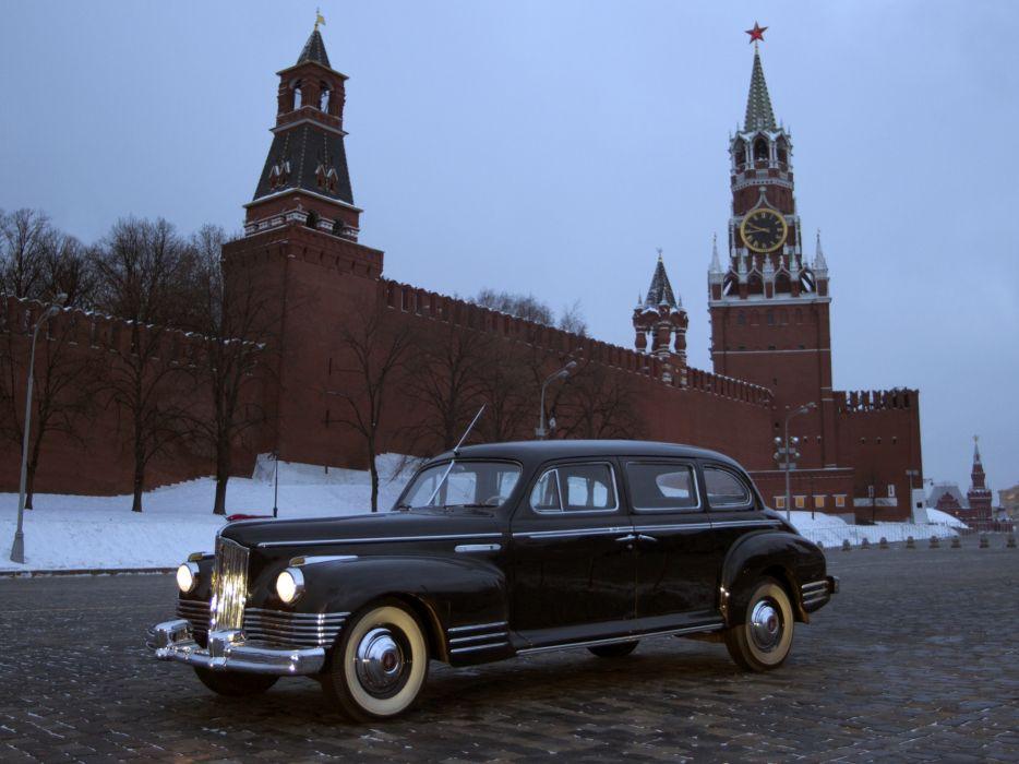 1945-48 ZIS 110 limosuine luxury retro   e wallpaper