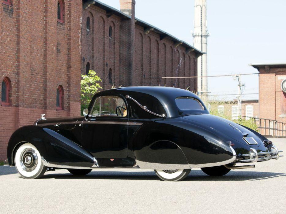 1947 Bentley Mark-VI Coupe Figoni Falaschi (B9AJ) luxury retro   gw wallpaper