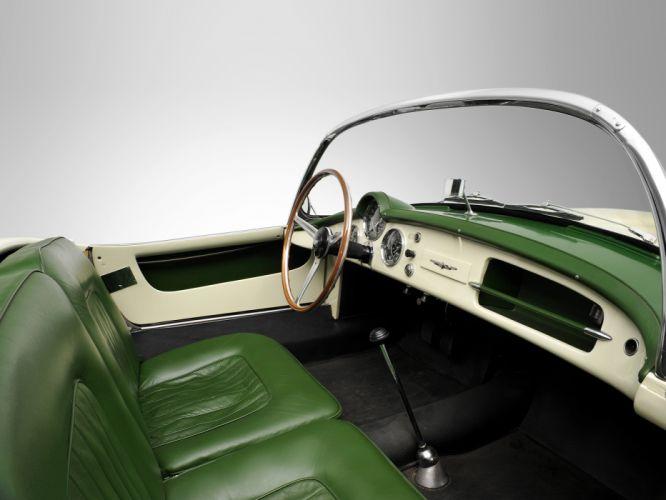 1954-55 Lancia Aurelia G-T Convertible (B24) retro interior h wallpaper