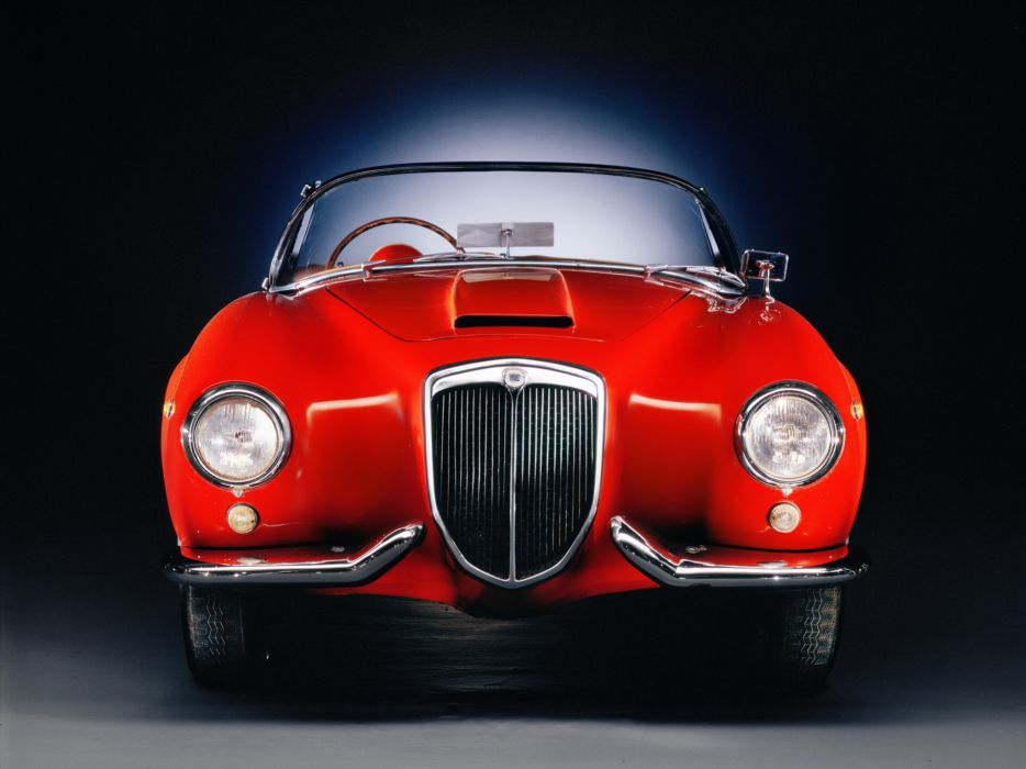 1954-55 Lancia Aurelia G-T Convertible (B24) retro e wallpaper