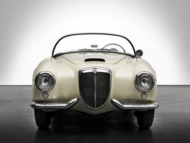 1954-55 Lancia Aurelia G-T Convertible (B24) retro g wallpaper