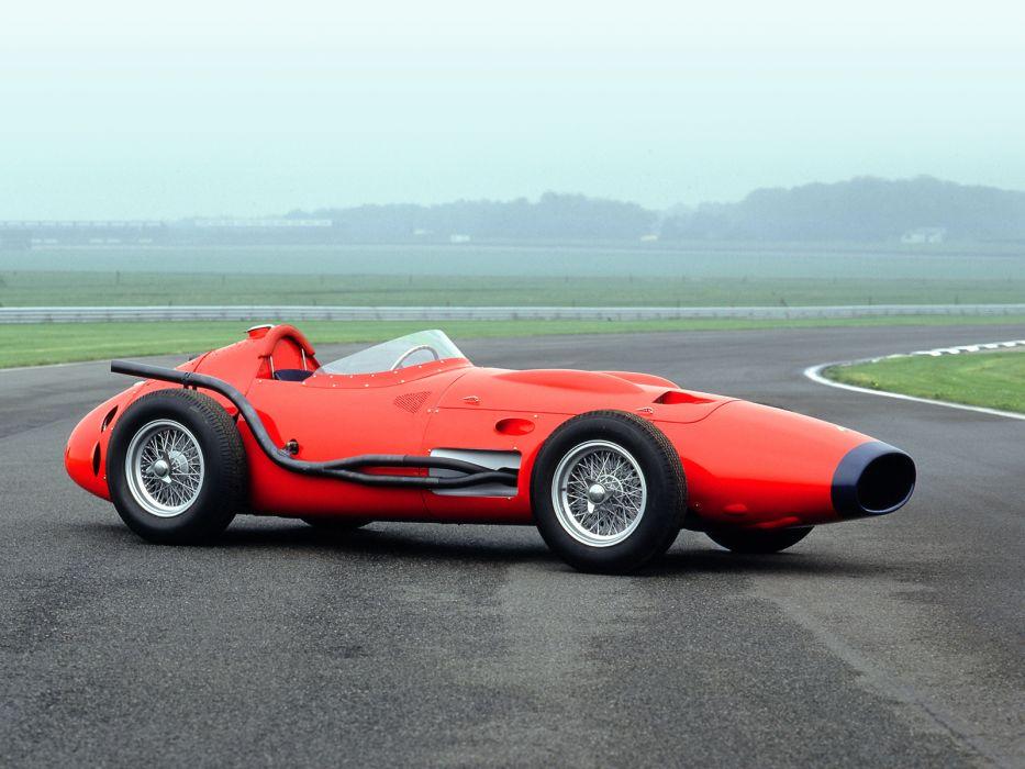 1954-60 Maserati 250F race racing retro  h wallpaper