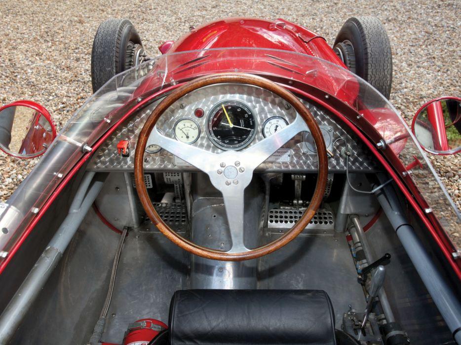 1954-60 Maserati 250F race racing retro interior     f wallpaper