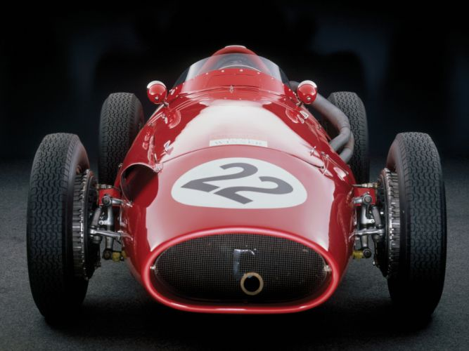 1954-60 Maserati 250F race racing retro da wallpaper