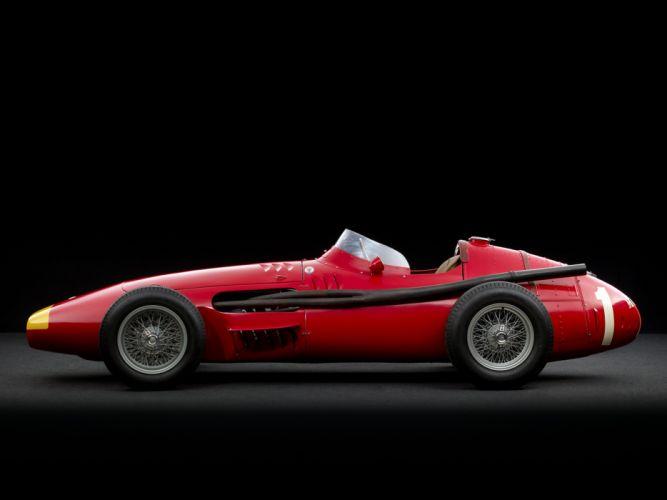 1954-60 Maserati 250F race racing retro dt wallpaper