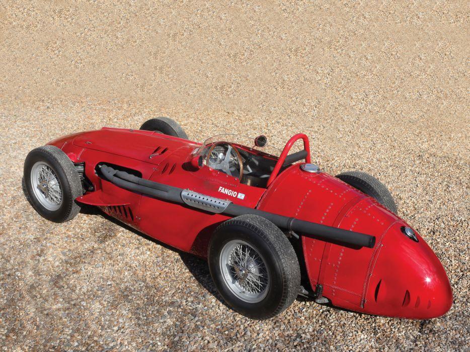 1954-60 Maserati 250F race racing retro  da wallpaper