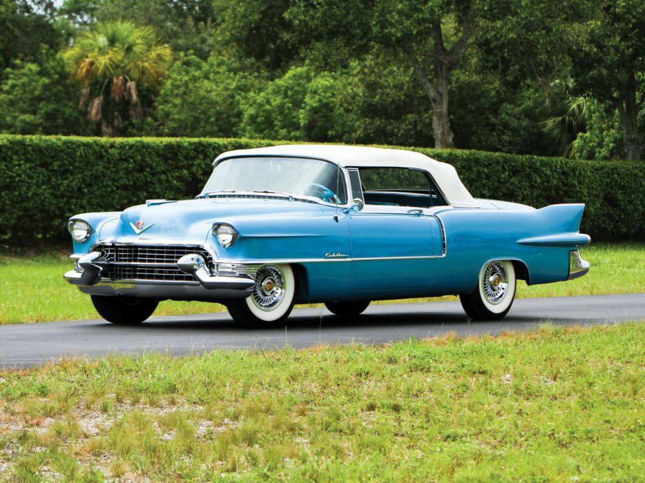 1955 Cadillac Eldorado (6267SX) convertible luxury retro w wallpaper