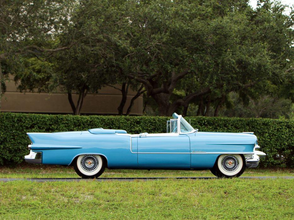 1955 Cadillac Eldorado (6267SX) convertible luxury retro n wallpaper