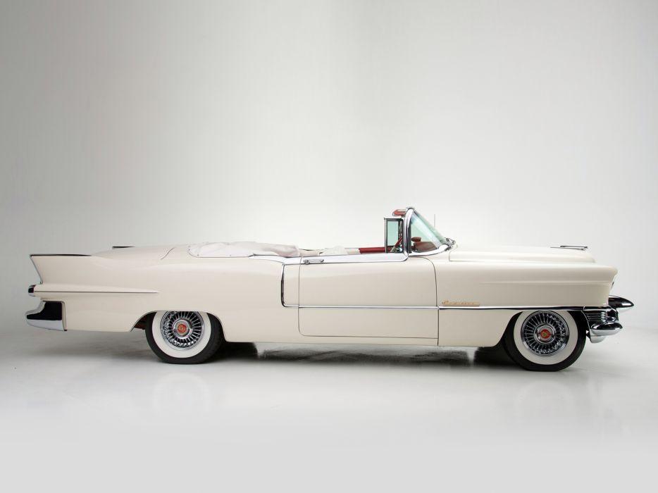 1955 Cadillac Eldorado (6267SX) convertible luxury retro eh wallpaper