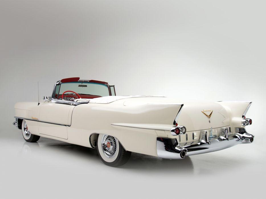 1955 Cadillac Eldorado (6267SX) convertible luxury retro  r wallpaper