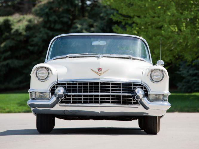 1955 Cadillac Eldorado (6267SX) convertible luxury retro d wallpaper