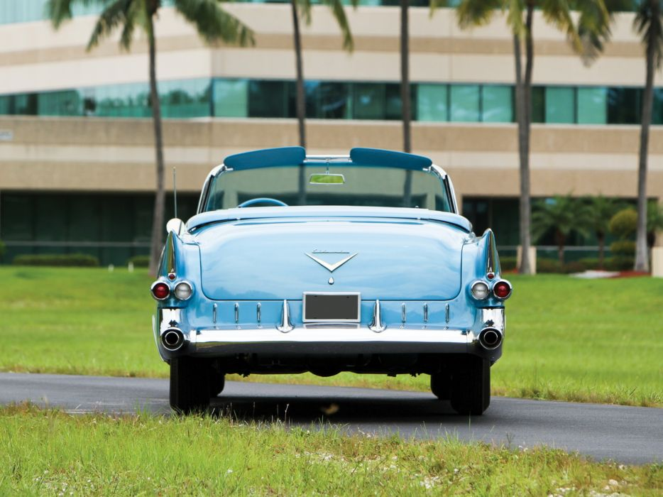 1955 Cadillac Eldorado (6267SX) convertible luxury retro e wallpaper