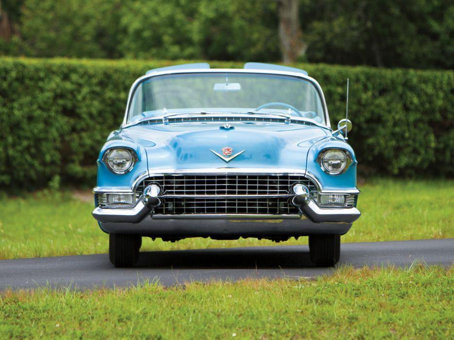 1955 Cadillac Eldorado (6267SX) convertible luxury retro eg wallpaper