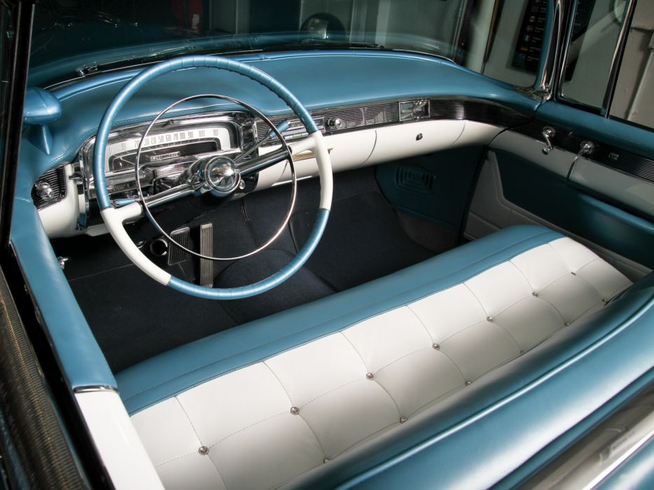 1955 Cadillac Eldorado (6267SX) convertible luxury retro interior   d wallpaper