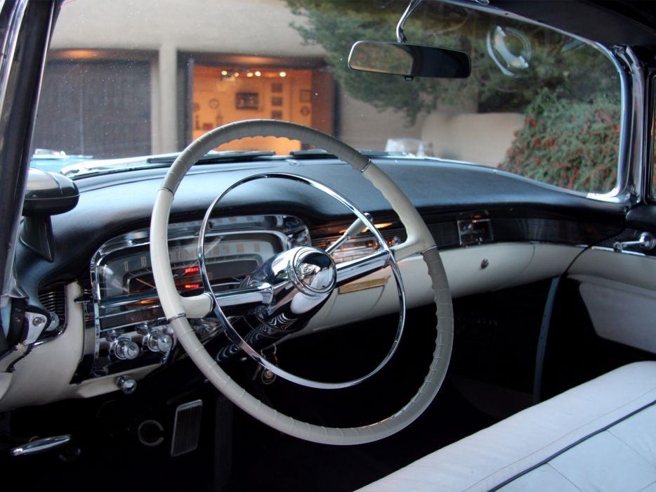1955 Cadillac Eldorado (6267SX) convertible luxury retro interior     g wallpaper