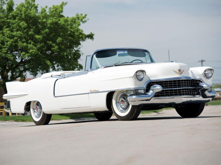 1955 Cadillac Eldorado (6267SX) convertible luxury retro  g wallpaper
