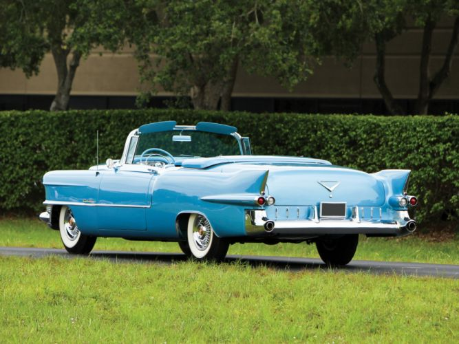 1955 Cadillac Eldorado (6267SX) convertible luxury retro y wallpaper