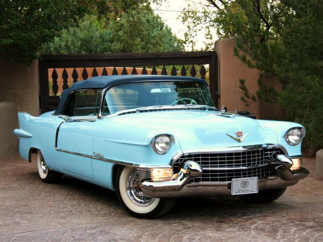 1955 Cadillac Eldorado (6267SX) convertible luxury retro g wallpaper