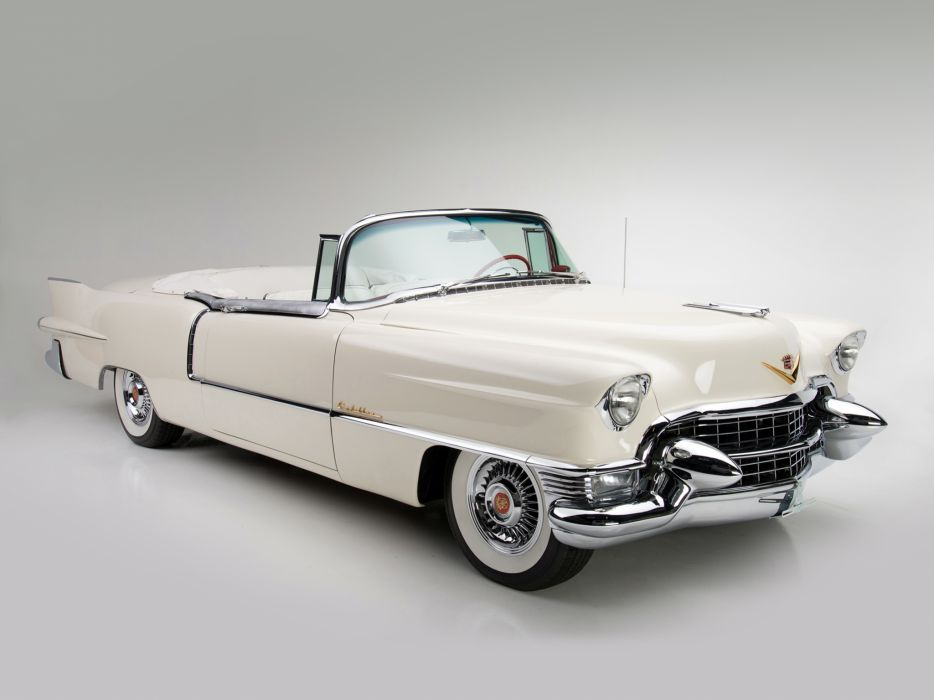 1955 Cadillac Eldorado (6267SX) convertible luxury retro  fr wallpaper