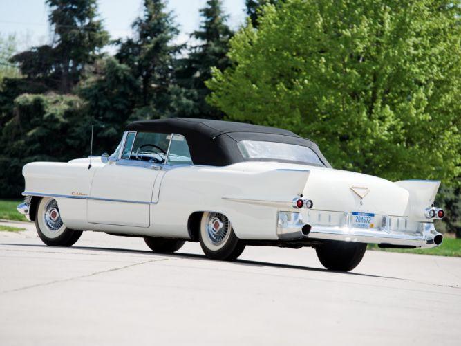 1955 Cadillac Eldorado (6267SX) convertible luxury retro h wallpaper