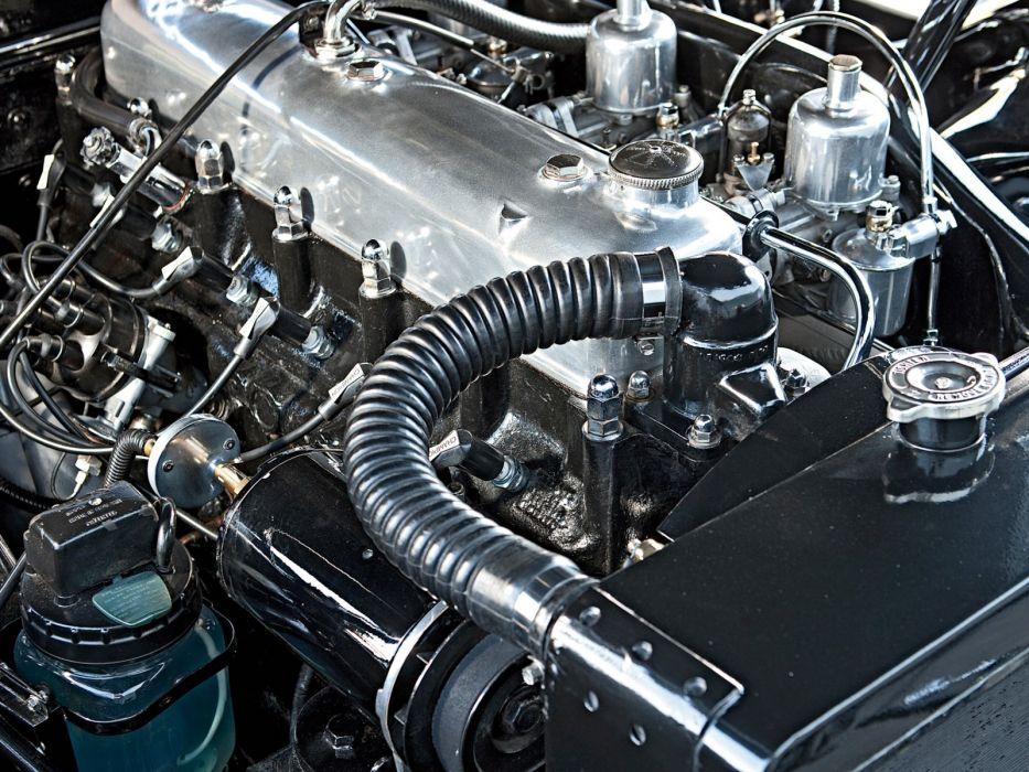 1957 Jensen 541R retro engine    g wallpaper