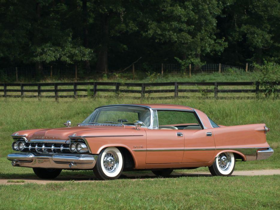 1959 Chrysler Imperial Crown Southampton Hardtop Sedan (MY1-M634) luxury retro   fd wallpaper