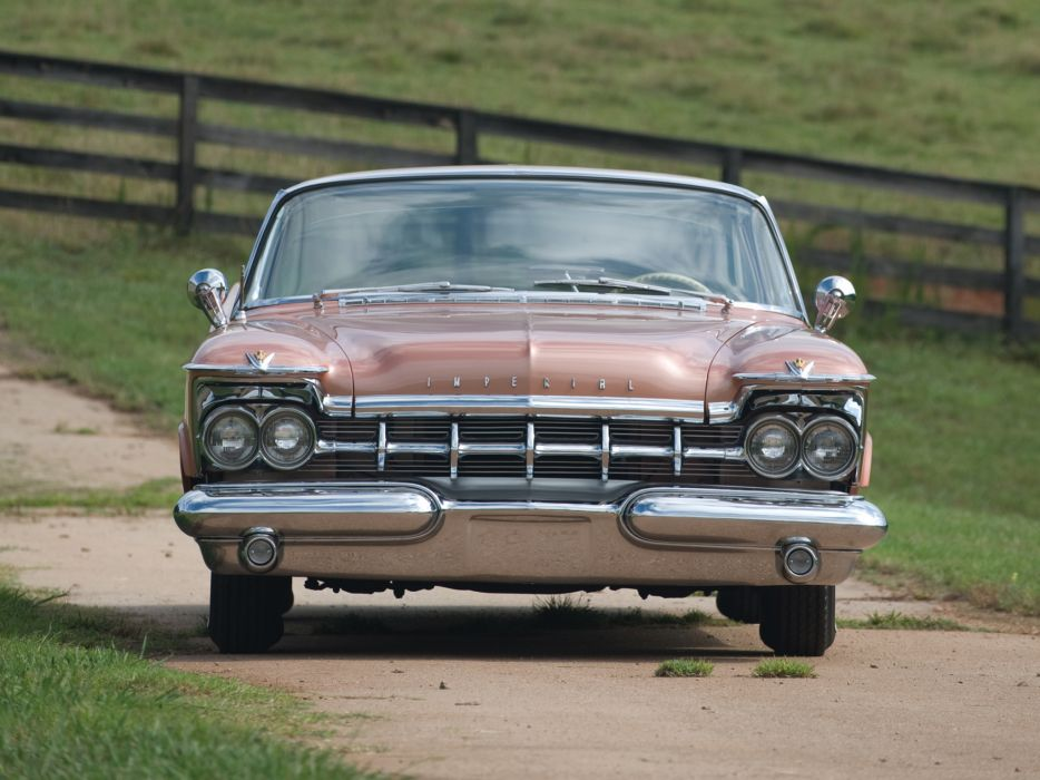1959 Chrysler Imperial Crown Southampton Hardtop Sedan (MY1-M634) luxury retro   f wallpaper