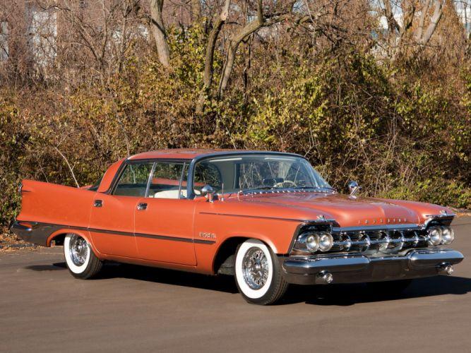 1959 Chrysler Imperial Crown Southampton Hardtop Sedan (MY1-M634) luxury retro fc wallpaper