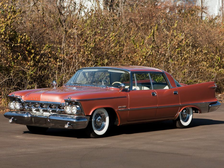 1959 Chrysler Imperial Crown Southampton Hardtop Sedan (MY1-M634) luxury retro  y wallpaper