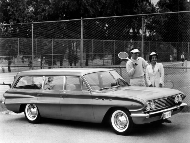 1961 Buick Special StationWagon classic g wallpaper