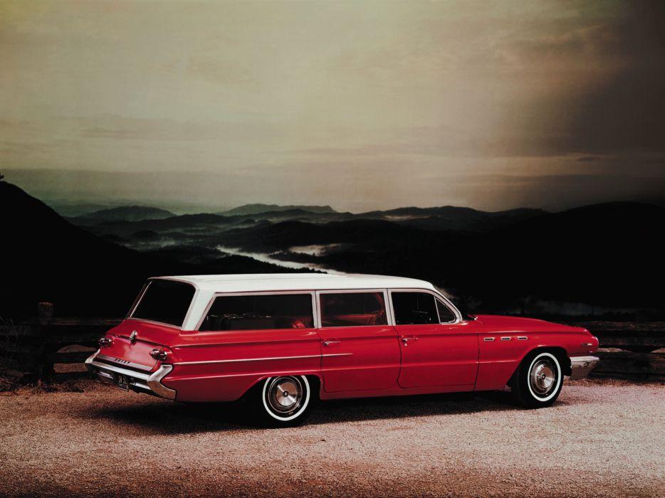 1962 Buick Invicta Estate stationwagon classic        g wallpaper