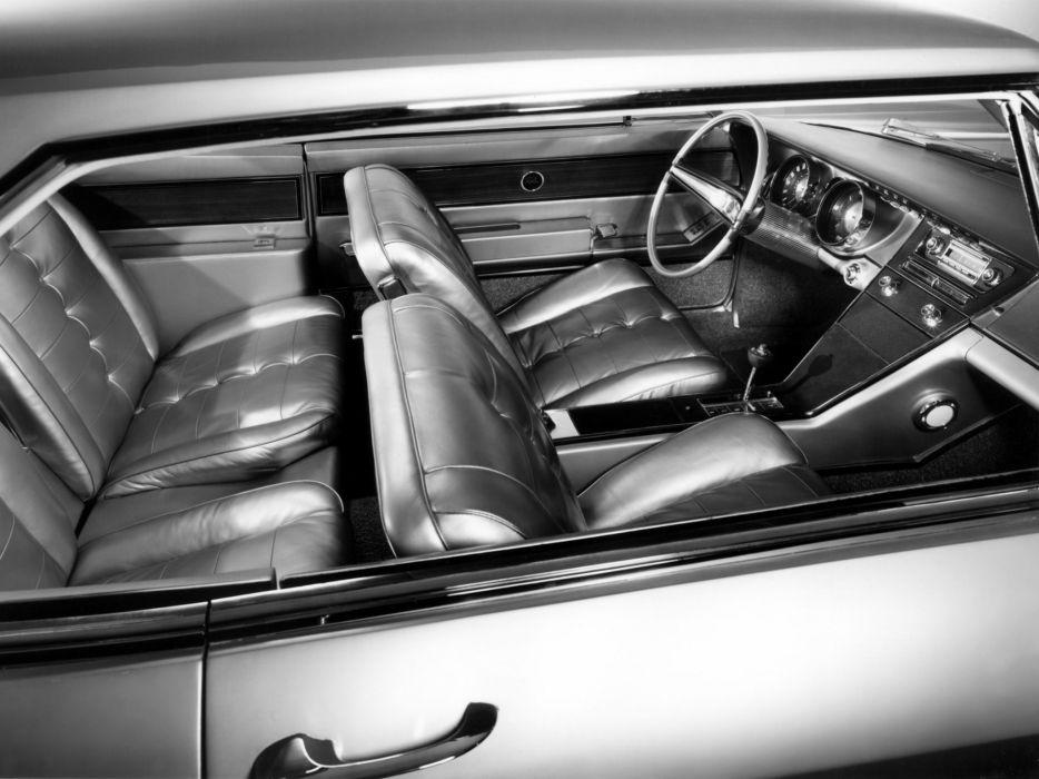 1963 Buick Riviera (4747) classic interior        f wallpaper