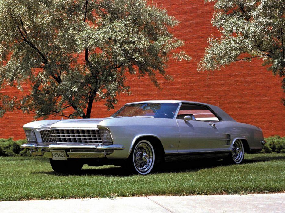 1963 Buick Riviera Silver Arrow Concept classic       f wallpaper
