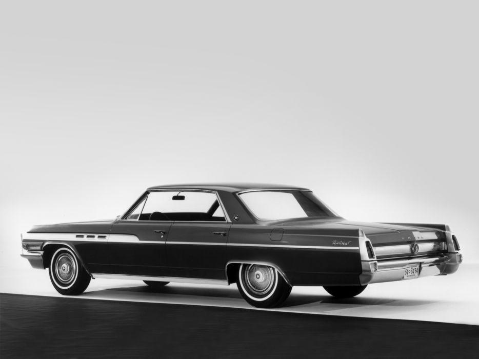 1963 Buick Wildcat Hardtop Sedan (4639) classic      f wallpaper