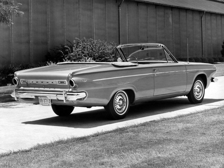 1963 Dodge Dart Convertible classic          f wallpaper