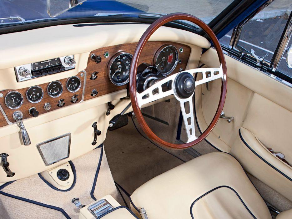 1963 Jensen CV8 (MkII) classic interior    h wallpaper
