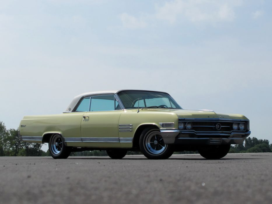 1964 Buick Wildcat Hardtop Coupe (4647) classic muscle      h wallpaper