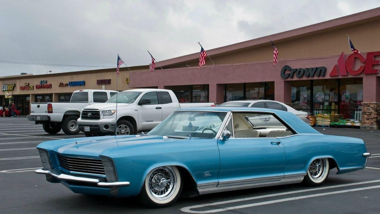 1965 Buick Riviera classic lowrider custom      b wallpaper